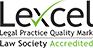 Law Society Accredited - Lexcel logo